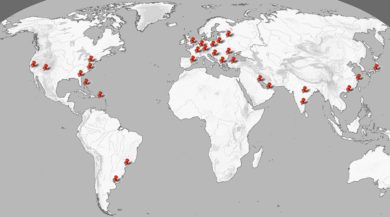 World Map SPI